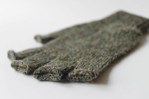 Fingerless Gloves Close-up